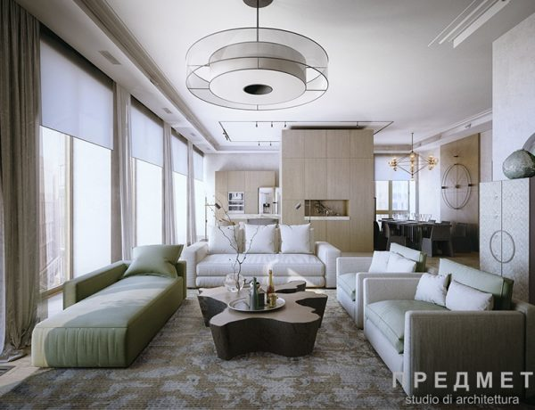 Interior designers dining and living room for Best arch designs living room