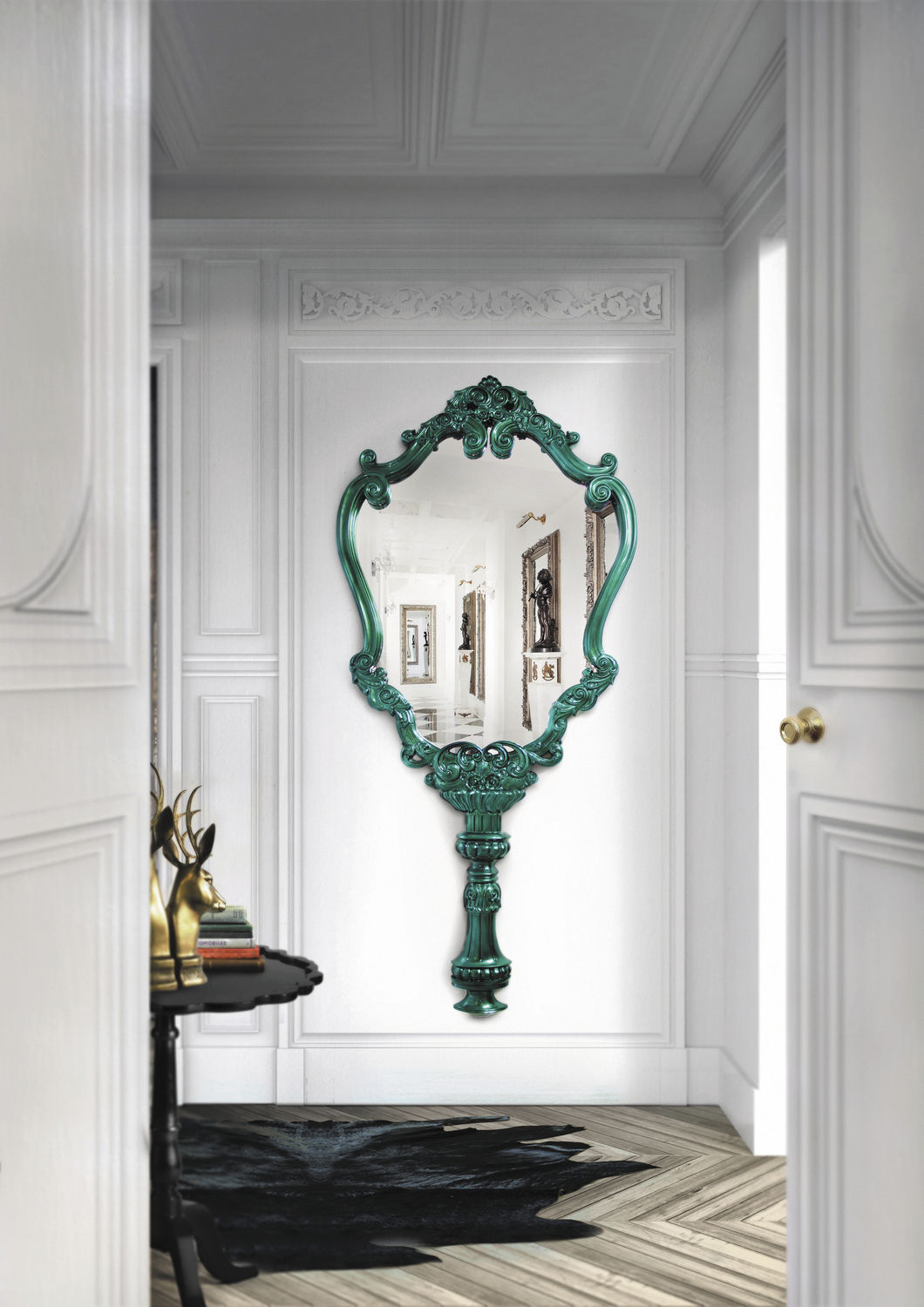 The Most Beautiful Wall Mirror Designs for Your Living Room  wall mirror designs The Most Beautiful Wall Mirror Designs for Your Living Room The Most Beautiful Wall Mirror Designs for Your Living Room8