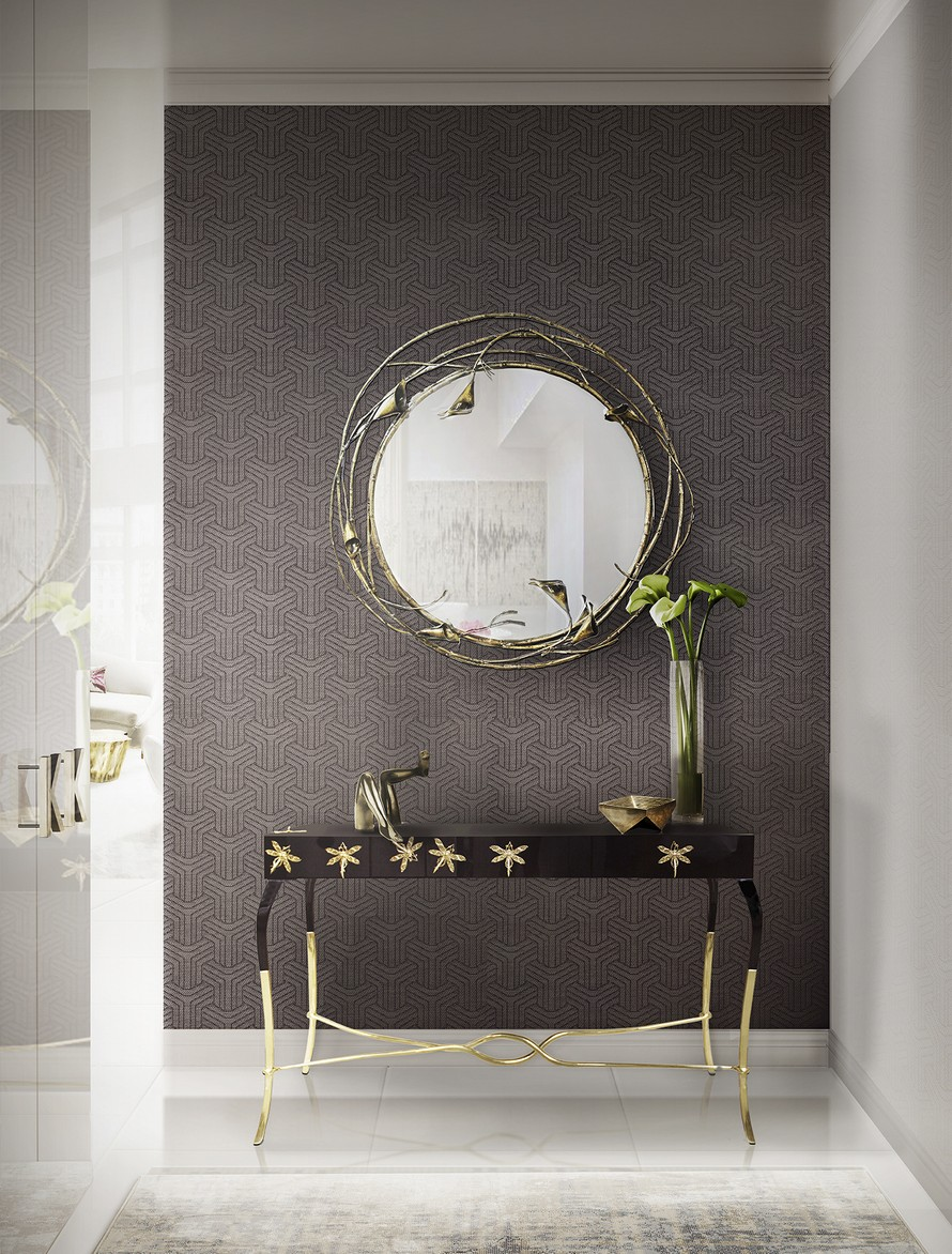 The Most Beautiful Wall Mirror Designs for Your Living Room  wall mirror designs The Most Beautiful Wall Mirror Designs for Your Living Room The Most Beautiful Wall Mirror Designs for Your Living Room9