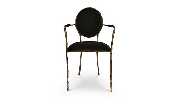 Enchanted dining chair KOKET  Dining Chairs The Most Incredible Dining Chairs for a Stylish Dining Room The Most Incredible Dining Chairs for a Stylish Dining Room6 1