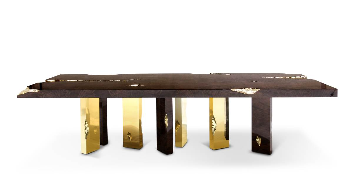 Top 10 luxury dining table designs for your dining room for Luxury dining table designs