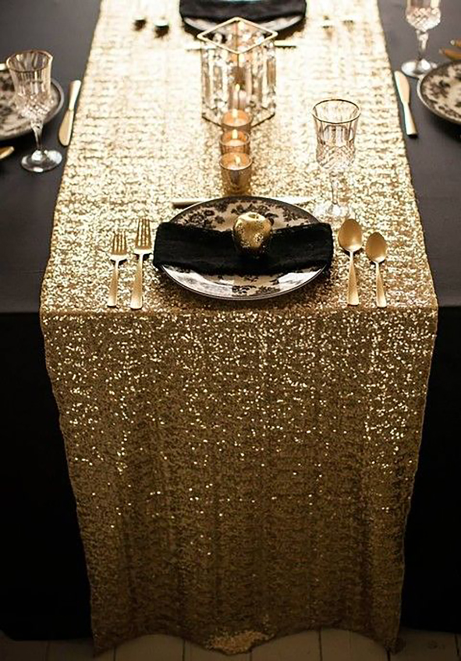 Get a Luxury Table Setting for New Year's Eve  New Year's Eve Get a Luxury Table Setting for New Year's Eve Get a Luxury Table Setting for New Years Eve2