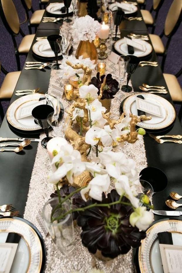Get a Luxury Table Setting for New Year's Eve  New Year's Eve Get a Luxury Table Setting for New Year's Eve Get a Luxury Table Setting for New Years Eve7