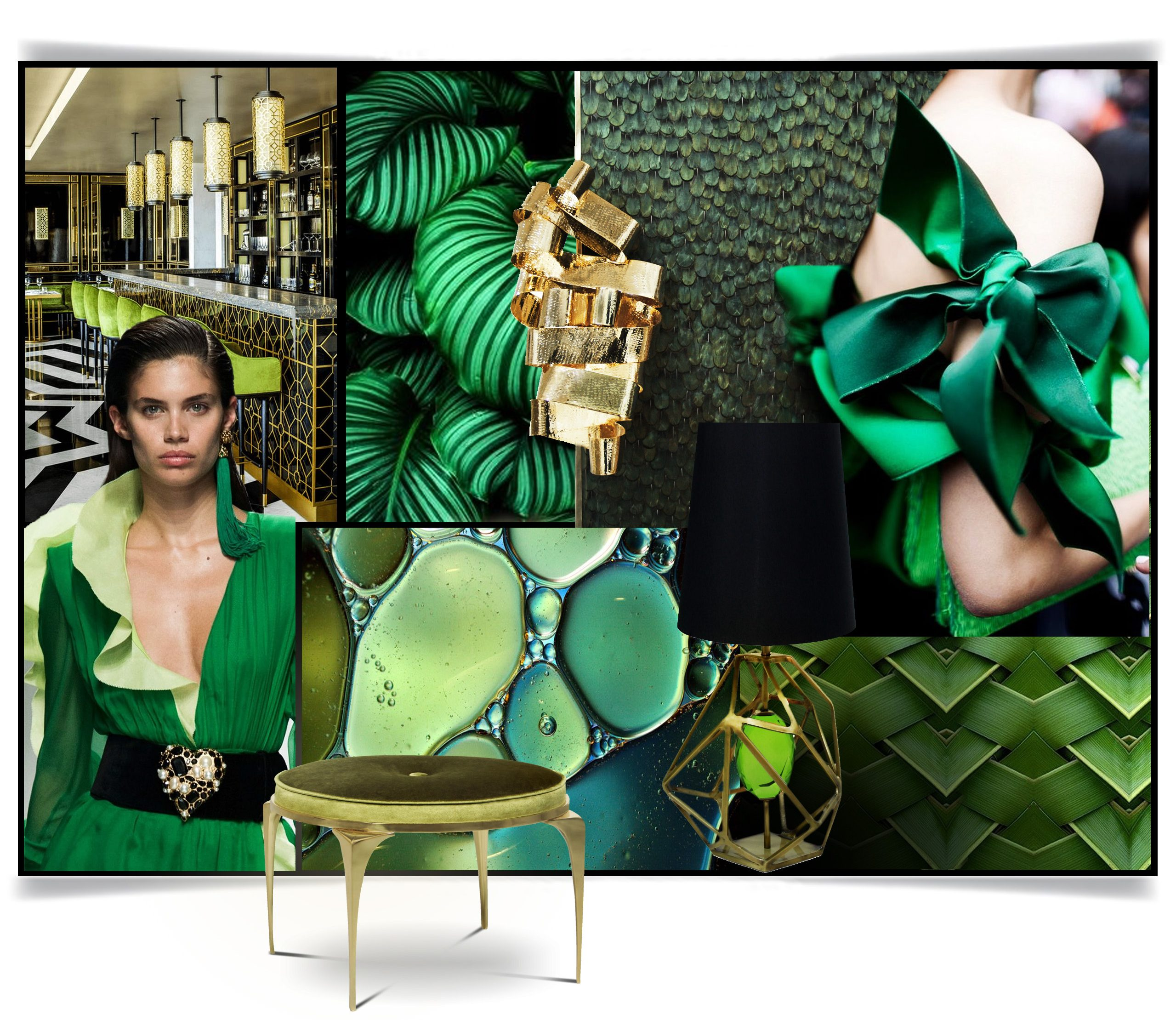 KOKET Moodboard pantone color of the year 2017 Pantone Color of the Year 2017: Greenery Pantone Color of the Year 2017 Greenery11 e1482752042199