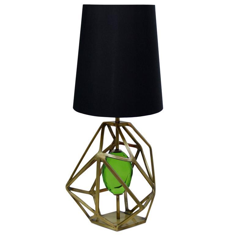 KOKET Gem Table Lamp  pantone color of the year 2017 Pantone Color of the Year 2017: Greenery Pantone Color of the Year 2017 Greenery12