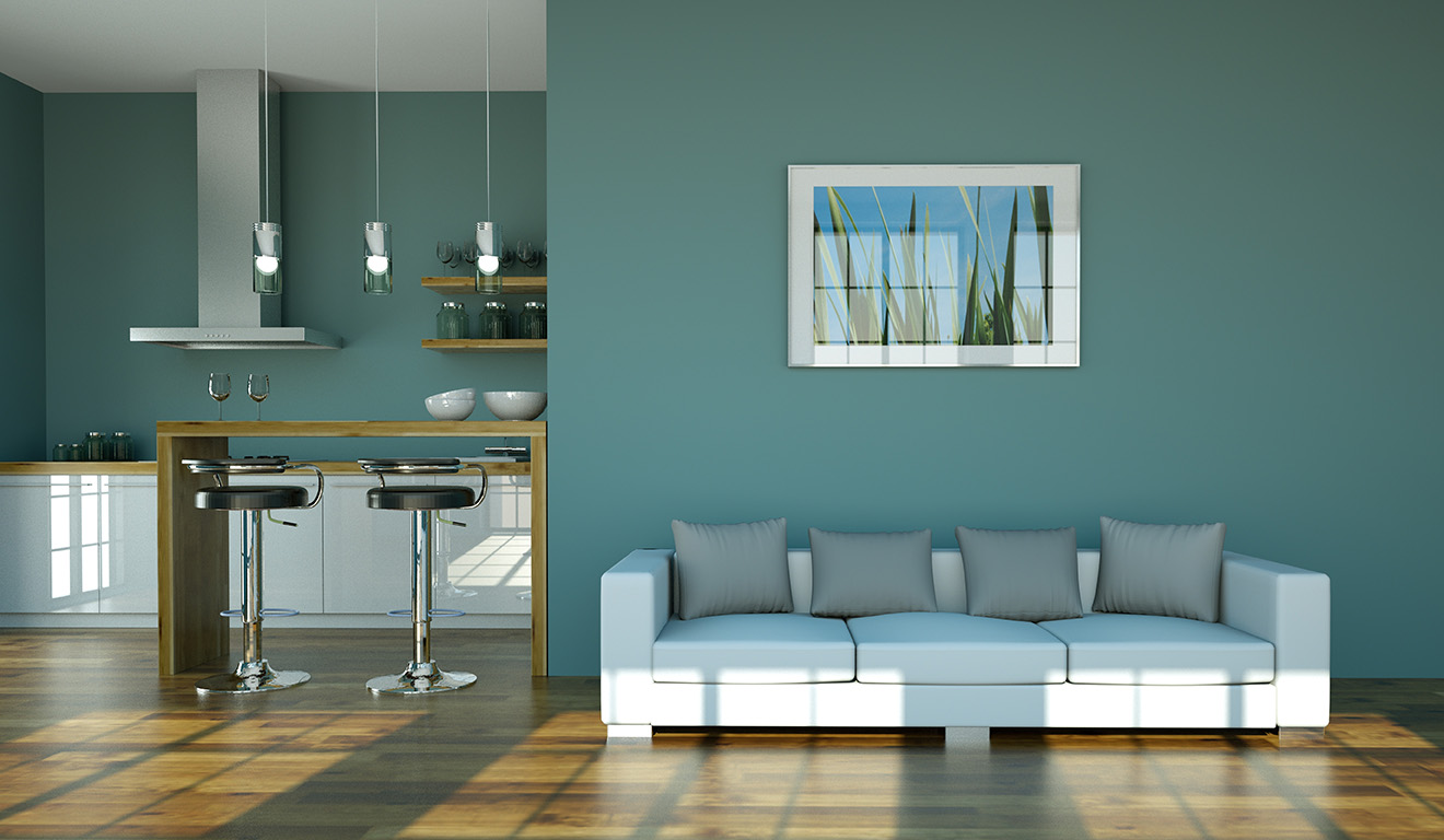 Latest colour trends for living rooms