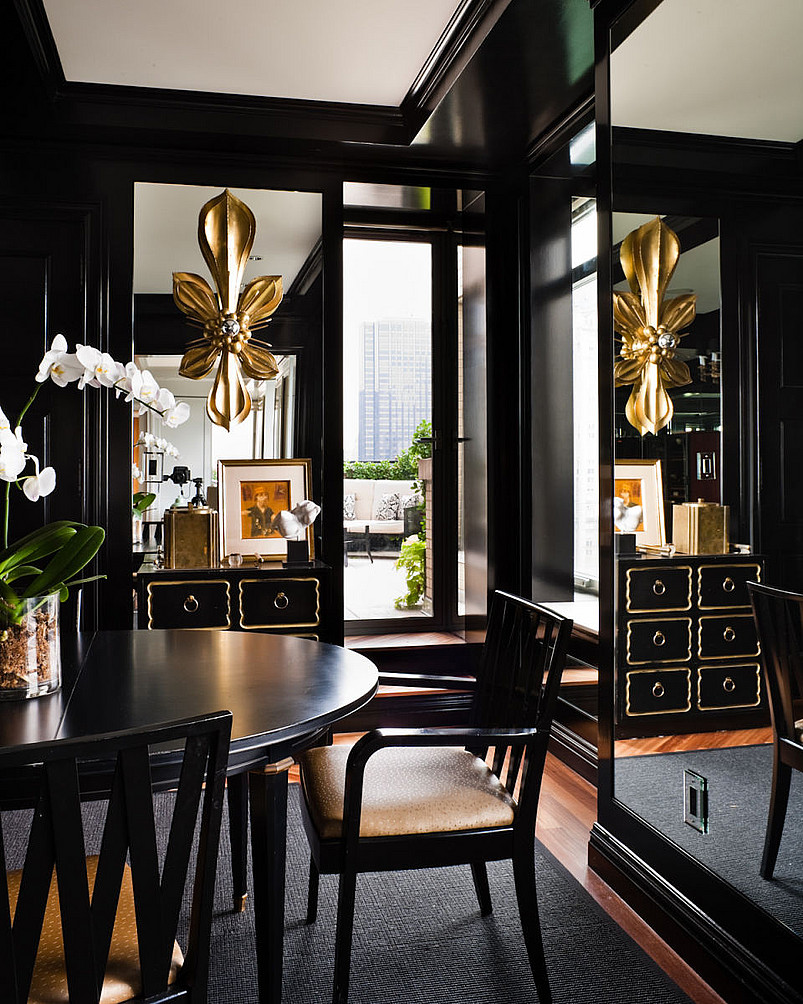 Luxury Dining Room Furniture: 8 Luxury Home Decor Ideas With Dark Furniture Pieces