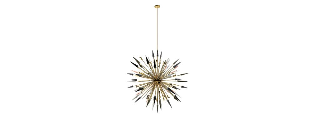 Isaloni 2017: KOKET Redefines Confidence in Milan - Outburst Chandelier by KOKET