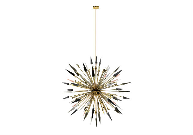 The Most Stunning Design Pieces at Isaloni 2017 - Outburst Chandelier isaloni 2017 The Most Stunning Design Pieces at Isaloni 2017 KOKET ISALONI 2017