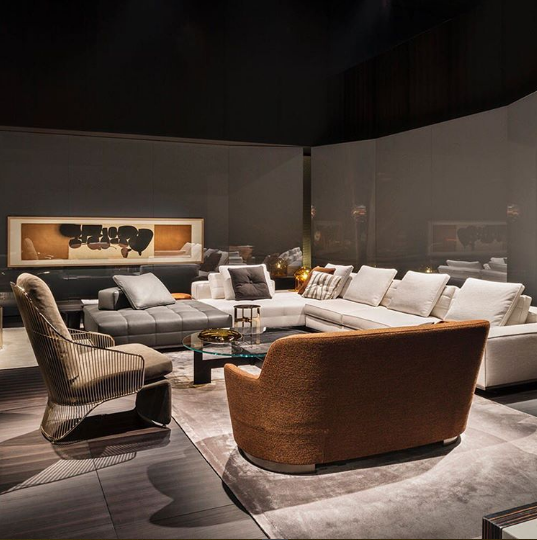 isaloni 2017 The Most Stunning Design Pieces at Isaloni 2017 MINOTTI ISALONI 2017