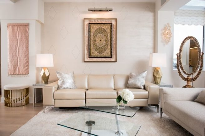 Neutral colors in an indian modern home by elle decor - Living room decorating ideas neutral colors ...