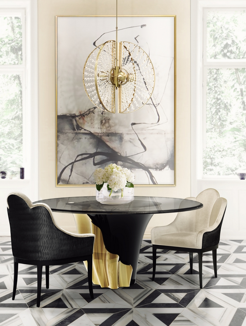 KOKET Trendy Dining Room Decorating Ideas for this Summer 10 Trendy Dining Room Decorating Ideas for this Summer 10 Trendy Dining Room Decorating Ideas for this Summer9