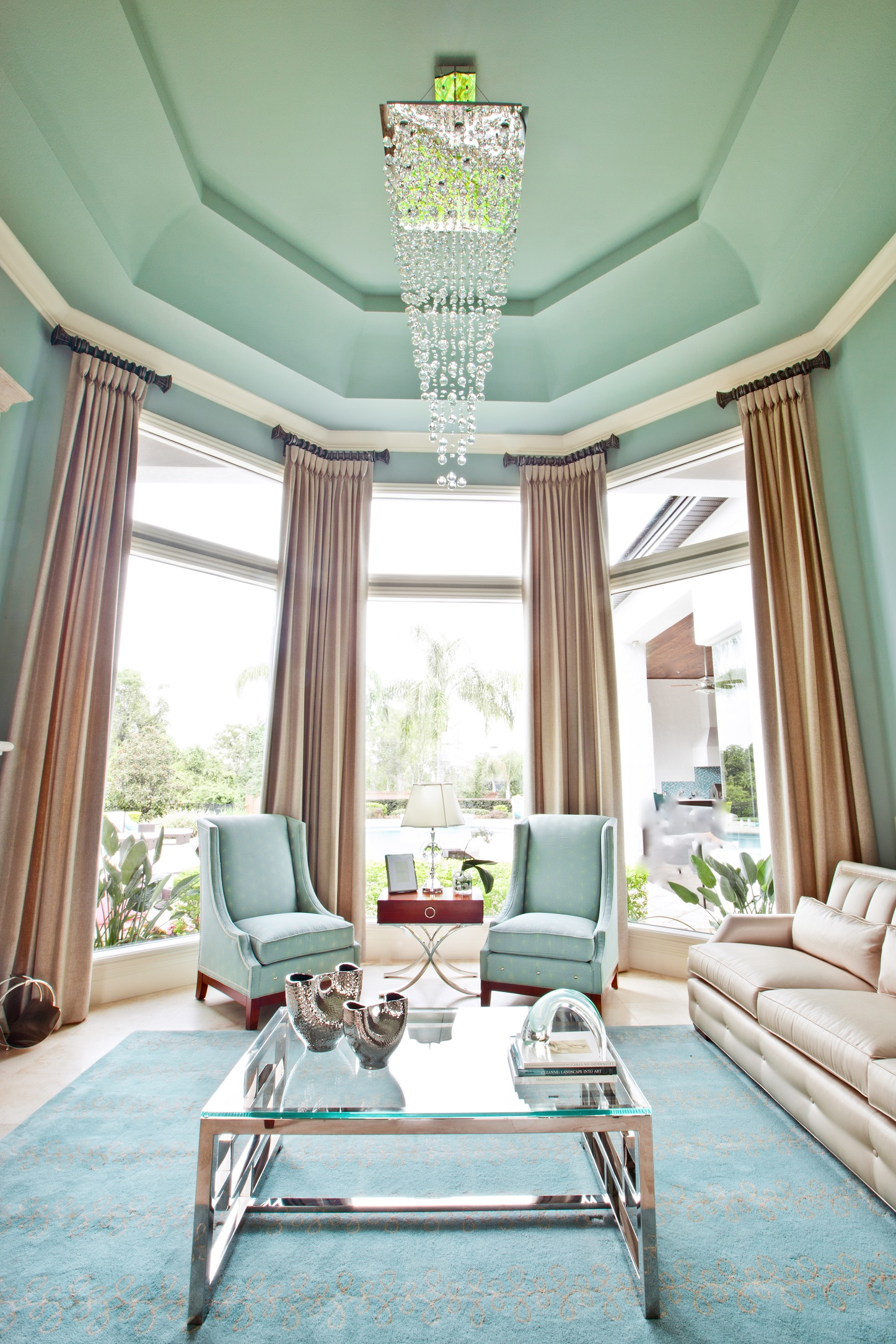 Living Room Decorating Ideas Mint Green stylish mint living rooms for your home decor