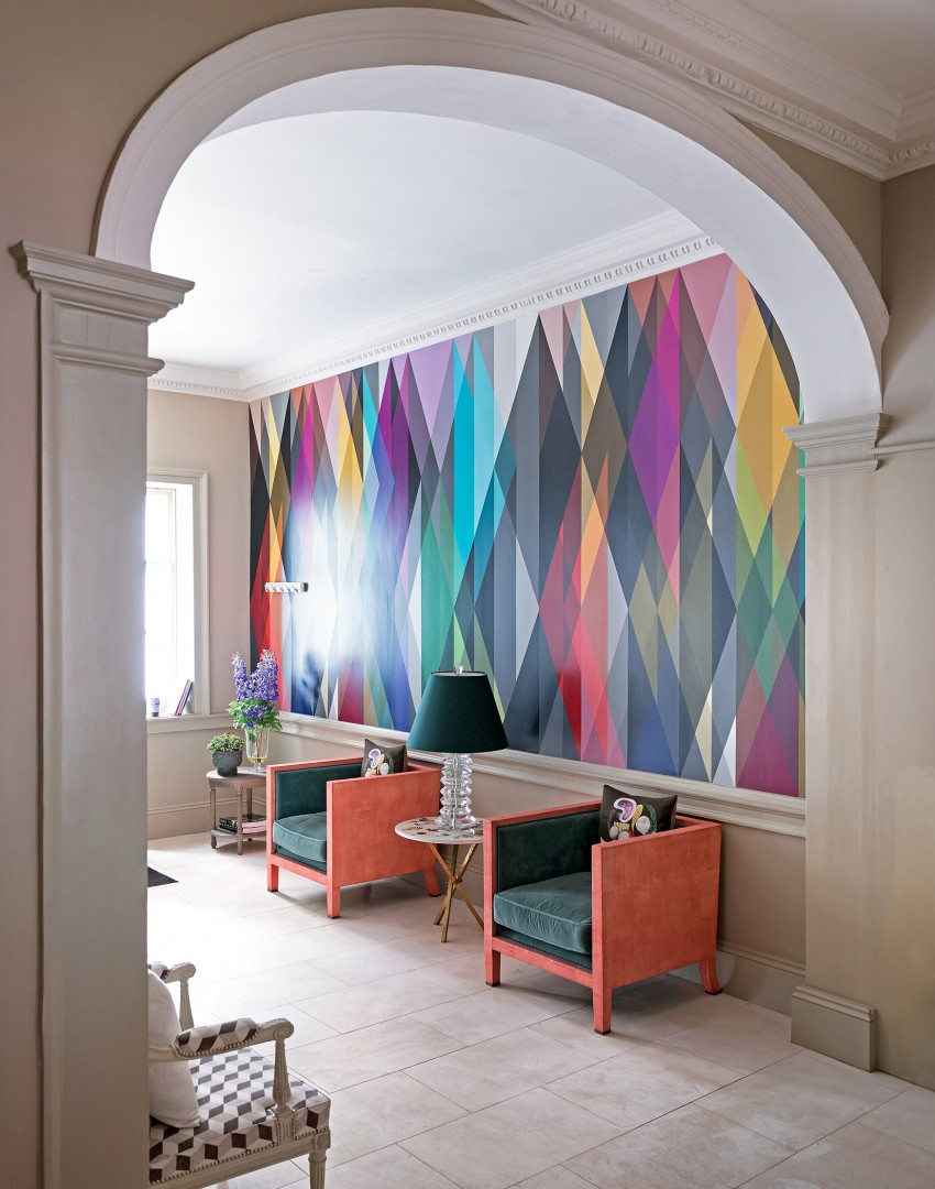 Modern Wallpaper Designs For Living Room: 8 Wallpaper Trends To Refresh Your Home For Summer