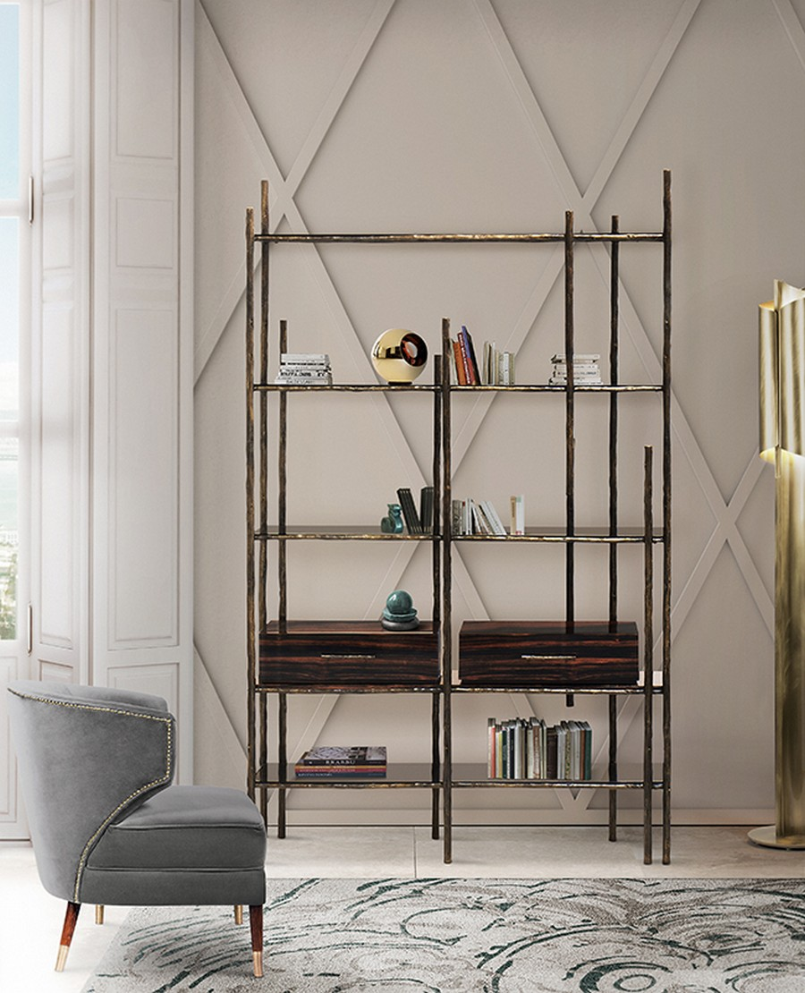 Maison et Objet 2018 maison et objet 2018 Magical Living Room Trends To Be Debuted at Maison et Objet 2018 129 Mambu Bookcase Ibis Armchair