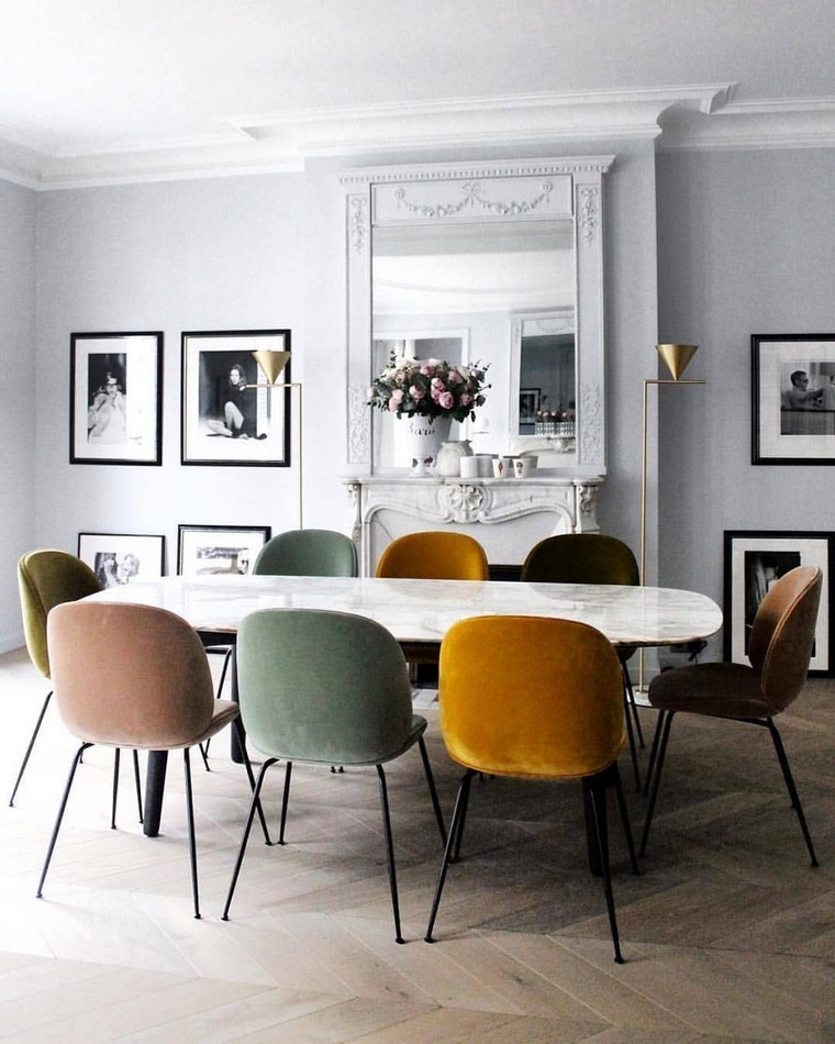 modern dining chairs modern dining chairs 5 Modern Dining Chairs to Turn Your Dining Room Brighter modern dining chairs 5