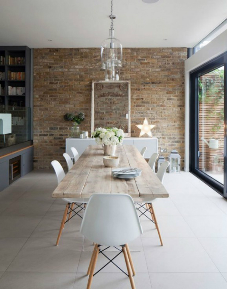 interior design tips 6 Interior design Tips to Make Your Dining Room Look Bigger Belle salle a manger scandinave