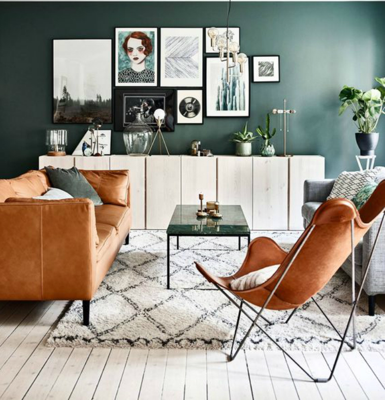 trends summer trends Find the 2018 Summer Trends For Your Living Room avec quelles couleurs associer le vert
