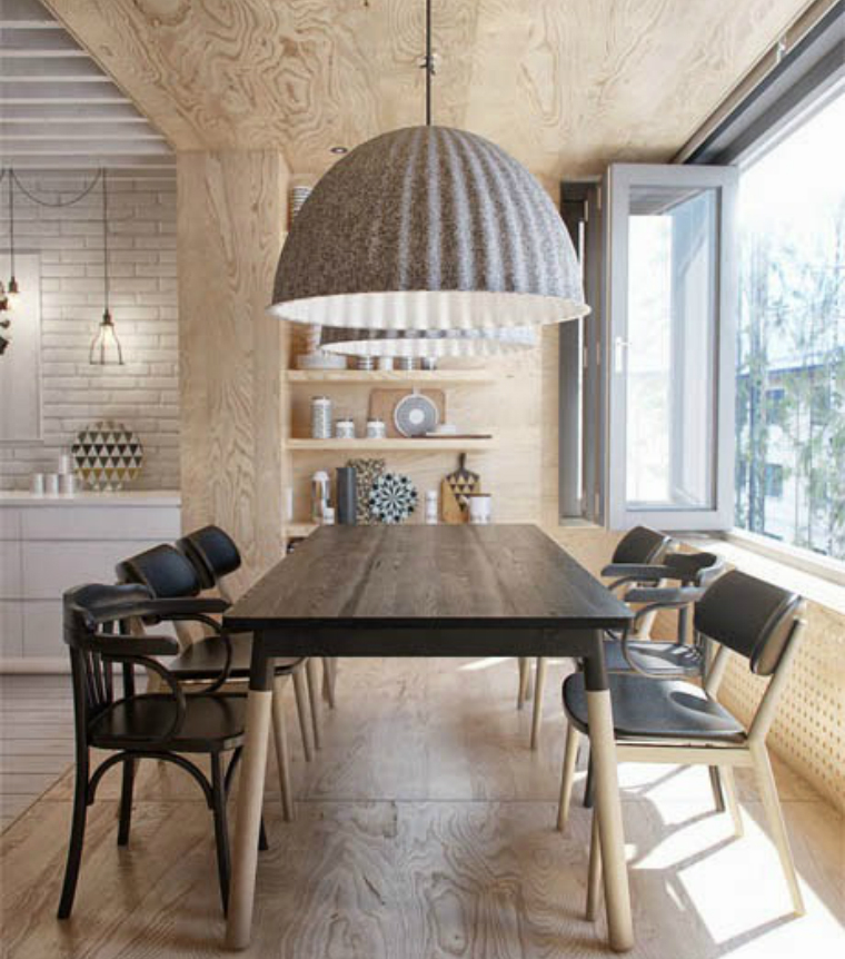 interior design tips interior design tips 6 Interior design Tips to Make Your Dining Room Look Bigger salle a manger cuisine