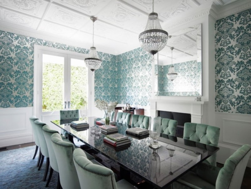 10 Amazing Velvet Dining Chairs for Your Dining Room velvet chairs 10 Amazing Velvet Chairs for Your Dining Room Velvet Chair 3 1