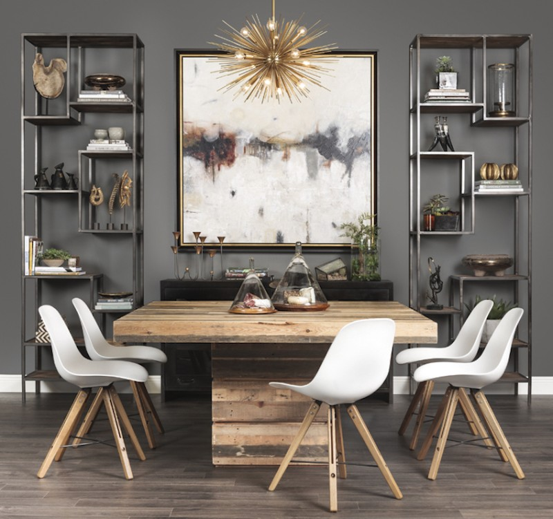 32 Stylish Dining Room Ideas To Impress Your Dinner Guests: 2018 Fall Trends: Find Here The Best Dining Tables Design