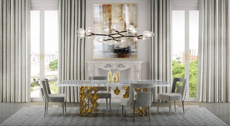 2018 Fall Trends: Find here the best Dining Tables Design dining tables design 2018 Fall Trends: Find here the best Dining Tables Design glass table