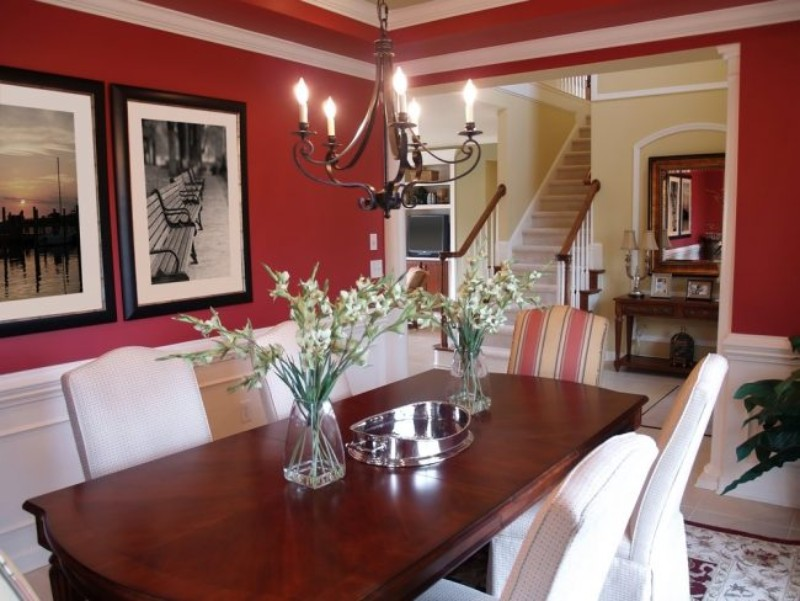 Modern Dining Room Design: 2019 Color Trends dining room design Modern Dining Room Design: 2019 Color Trends 2019 Dining Room Design Color Trends 5