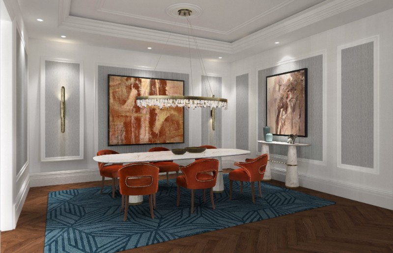 Tips on How to Choose the Best Dining Room Rug dining room rug Tips on How to Choose the Best Dining Room Rug Dining Room Rugs 1