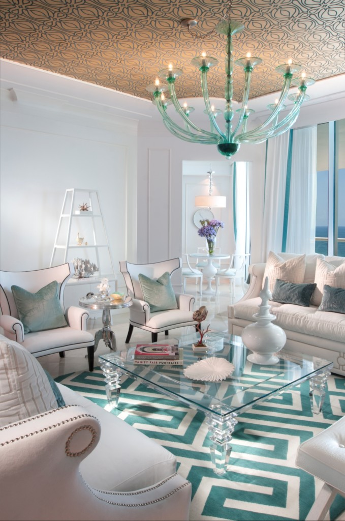 Living Room Turquoise With Accents 10 Ideas For How To Decorate Your