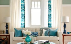 living room with turquoise accents 10 ideas for how to decorate your living room with turquoise accents living room turquoise 6 240x150