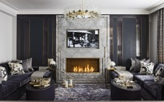 luxury living room decoration 10 Luxury Living Room Decoration by Katharine Pooley 02 Hyde Park project by katherine pooley 240x150