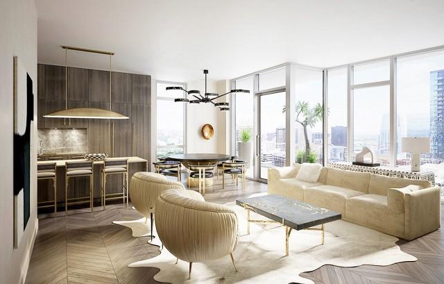 10 Fabulous Living Room Ideas By Kelly Wearstler