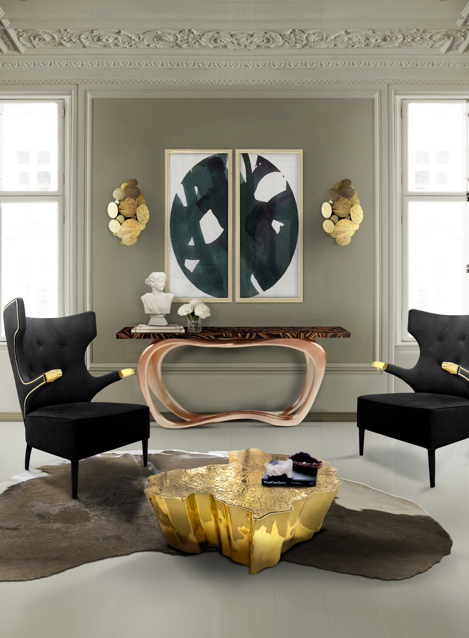 console for living room 10 amazing modern console tables for your living room design 17245