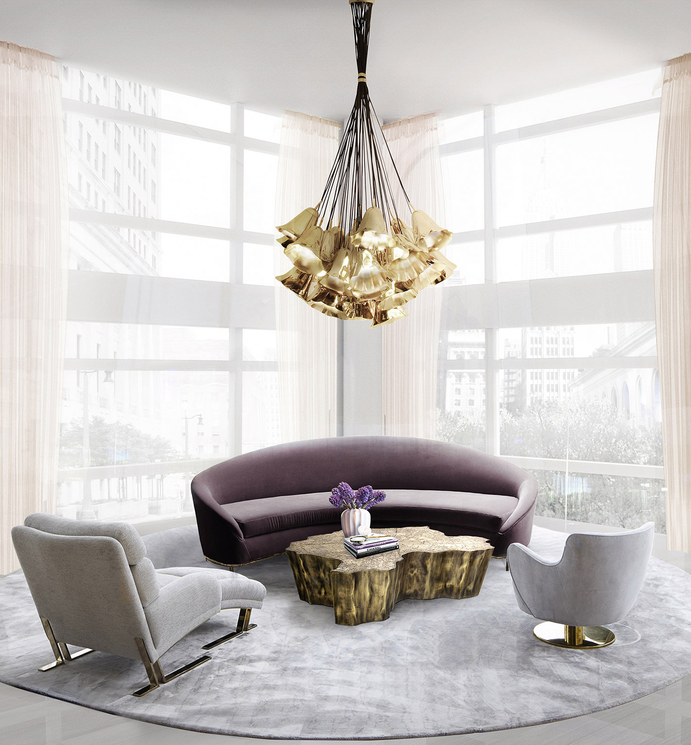 10 Ideas on How to Beautify your Living Room with Modern Sofas