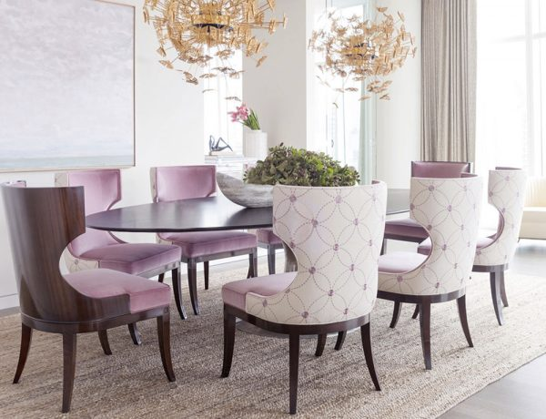trendy dining rooms 10 Trendy Dining Rooms Decoration Ideas to Inspire You 10 Trendy Dining Room Decoration Ideas to Inspire You3 600x460