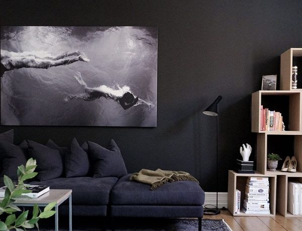 black living room Black Living Room Ideas to Enhance your Home Decor black living room ideas for your home decor 600x460