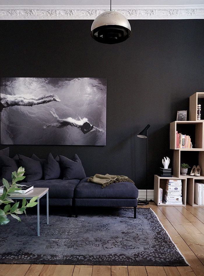 Black Living Room Ideas For Your Home Decor To