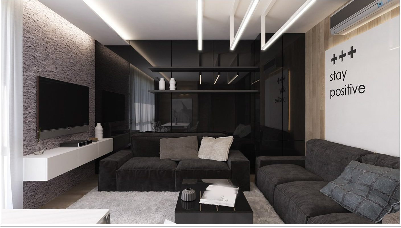 Images Of Black Living Rooms