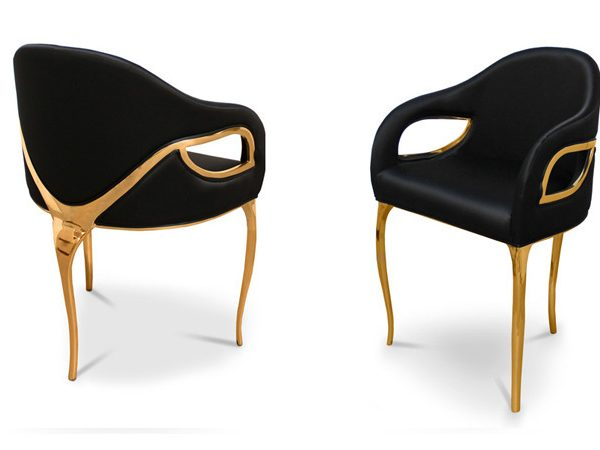 modern gold chairs 8 Modern Gold Chairs for your Living Room 10 Modern Gold Chairs for your Living Room5 600x450