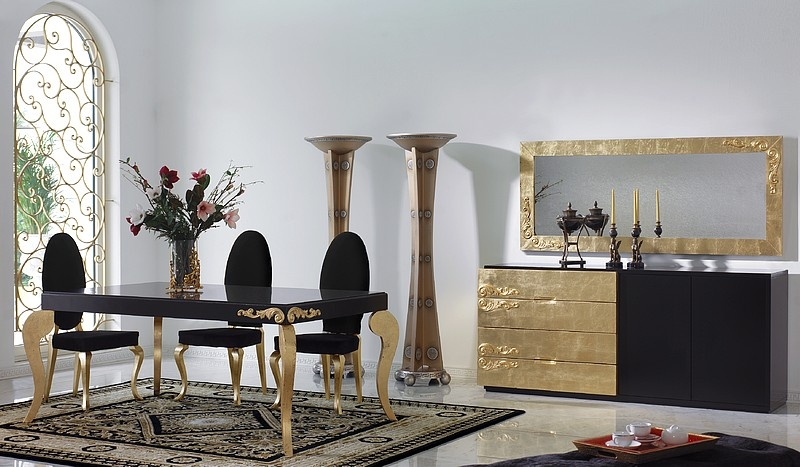 The Best Black And Gold Decorating Ideas For Your Dining Room