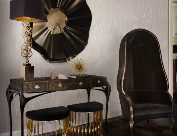 black and gold furniture The Best Black and Gold Furniture for your Home Décor The Best Black and Gold Furniture for your Living Room D  cor5 600x460