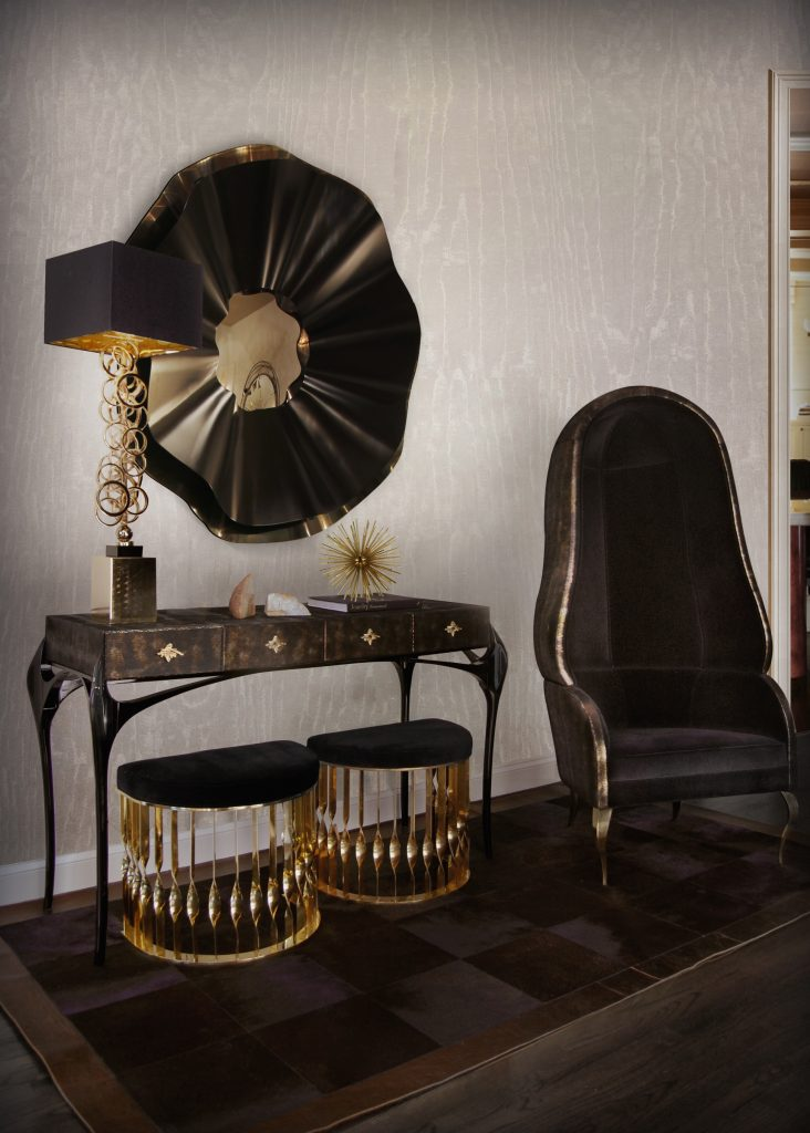 The Best Black And Gold Furniture For Your Living Room Décor5