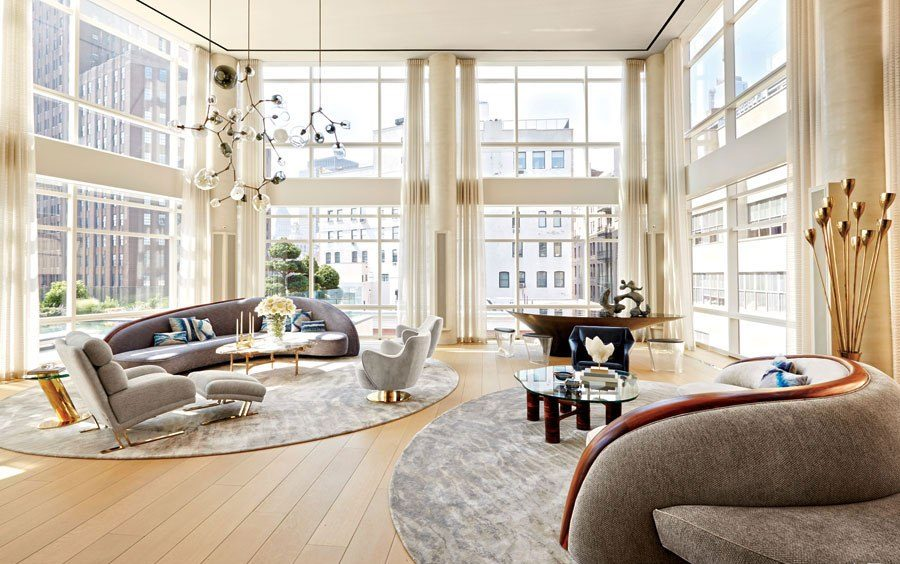 dream living rooms top 8 manhattan living rooms to inspire you 10233