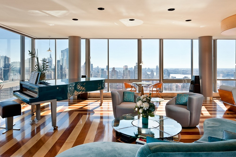 penthouse living room top 8 manhattan living rooms to inspire you 11025