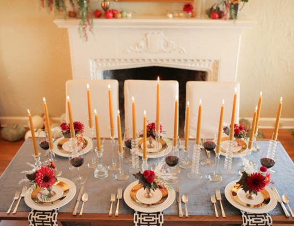 Dining Table for Thanksgiving 10 Stylish Ways to Decorate your Dining Table for Thanksgiving 10 Stylish Ways to Decorate your Dining Table for Thanksgiving2 600x460