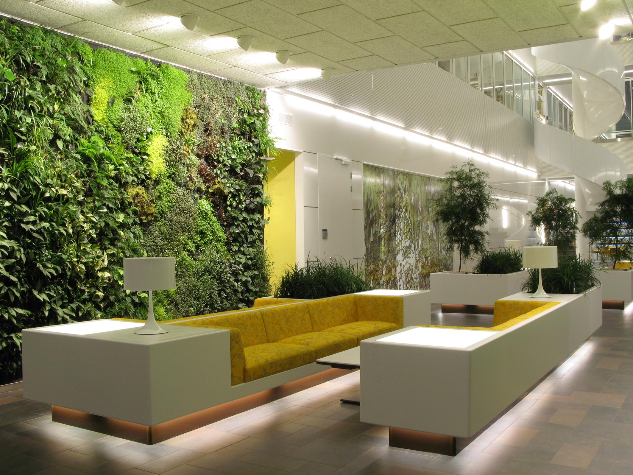 Living Room Ideas For An Interior Garden