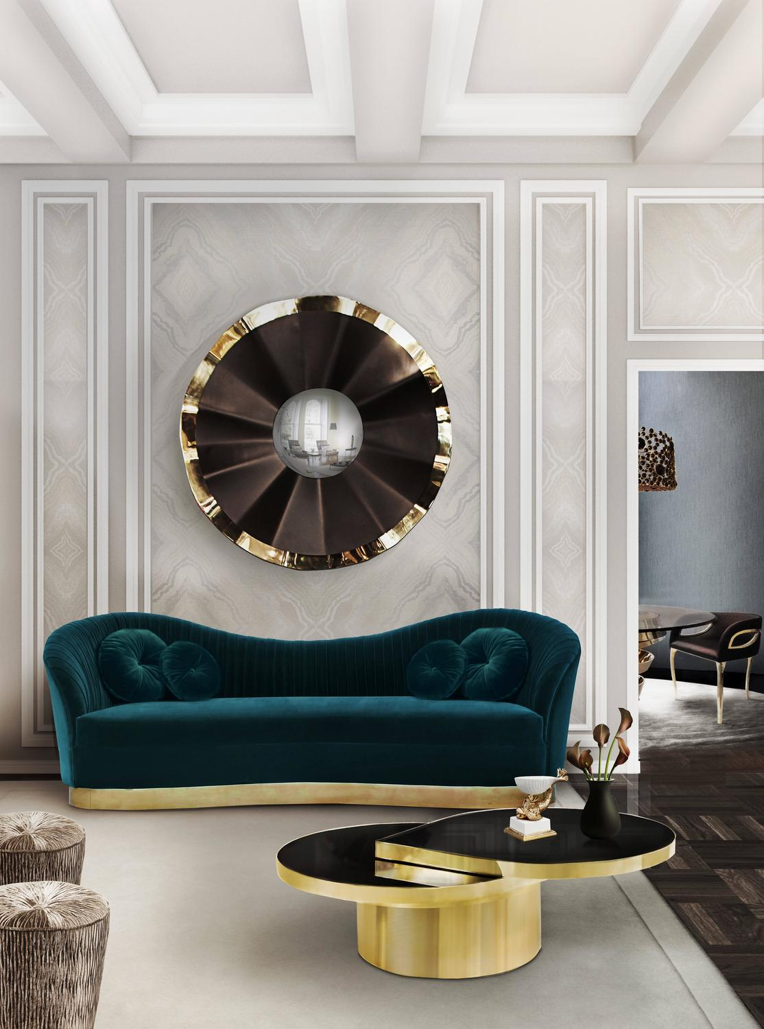 Top 10 Mirror Design For Living Room