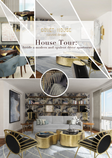 House Tour: Inside a modern and opulent décor apartment 27f6c1dbb90c83f5e870d5ef97e0aa82
