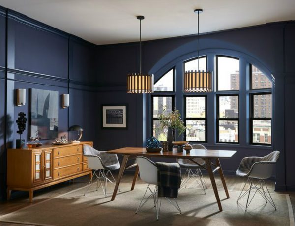 dining room design Modern Dining Room Design: 2019 Color Trends 2019 Dining Room Design Color Trends 9 600x460