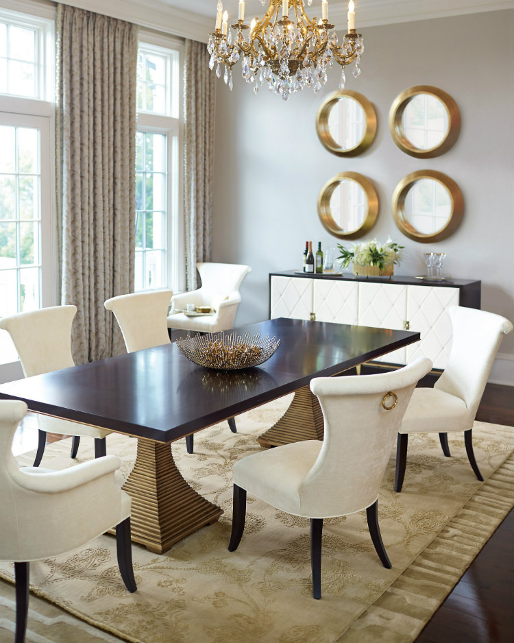 dining tables dining tables The perfect dining tables to set the mood for 2019 Bernhardt Paltrow Double Pedestal Table